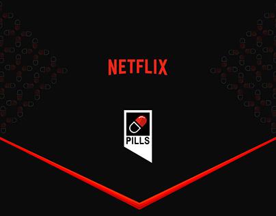 CONCEPT UPDATE // NETFLIX PILLS