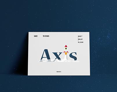 Axis Rocketship Logo