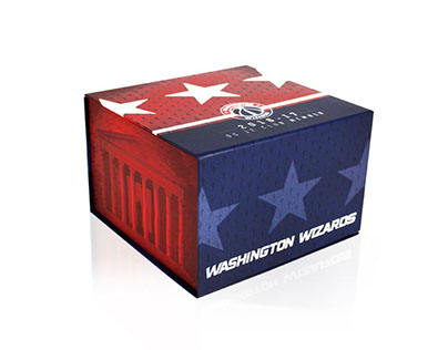 Washington Wizards Packaging Photography