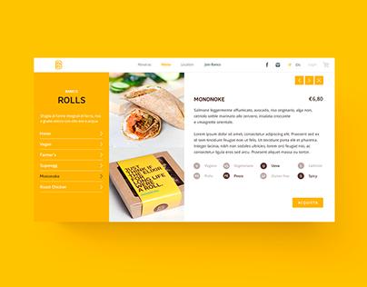Banco Fast Food Website