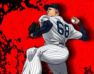 adidas baseball MLB Postseason art