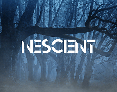 Nescient - Bold Only Abstract Font
