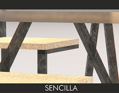 SENCILLA: DINING FURNITURE PROJECT