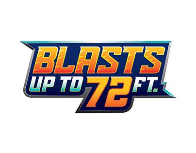 Blast 72 Logo designs