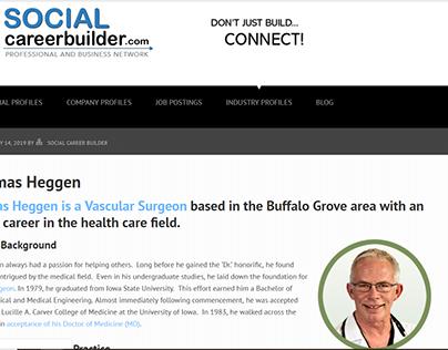Social Career Builder - Dr. Thomas Heggen