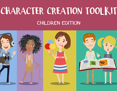 Children Character Creation toolkit