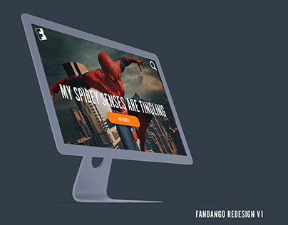 Fandango UX UI Redesign