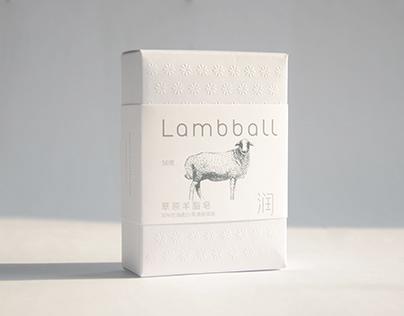 lambball羊脂皂包装设计