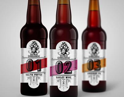 Polish craft beer brand design