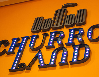 CHURROS LAND Branding