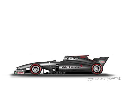 Mclaren F1 rendering