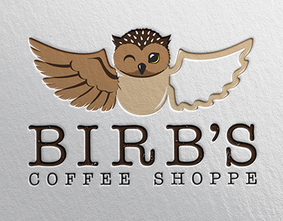 Birb's Coffee Shoppe Logo