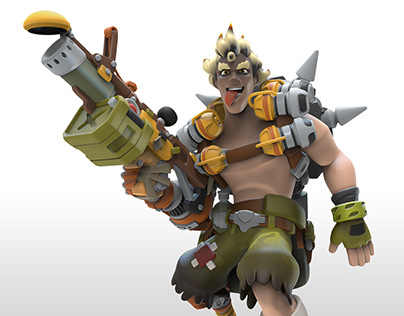 Junkrat Overwatch Infinity... and beyond!
