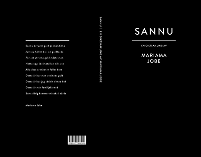 Book cover | Poetry collection by Mariama Jobe