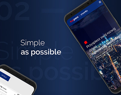 Website design - TCPOS | Rewelia