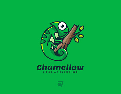 Mascot logo design, Project for CHAMELLOW.