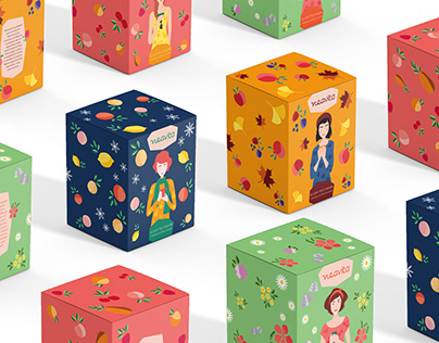 LE STAGIONI - Packaging & Illustration