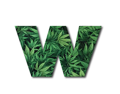 logo design Weed