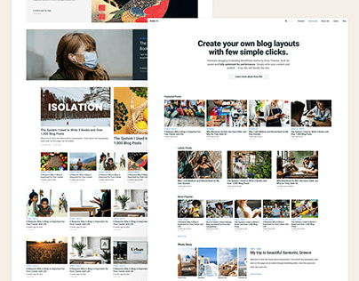 Enso Rei - WordPress Blogging Theme