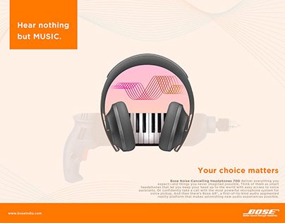Press AD Bose Headphones