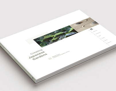 Book Redesign—Creating Japanese Gardens