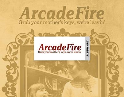 Arcade Fire - Album Art