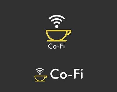 Co-Fi Logo and UI / UX