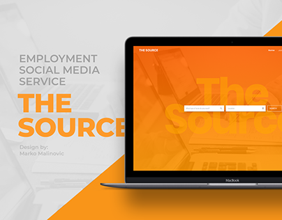 The Source website concept