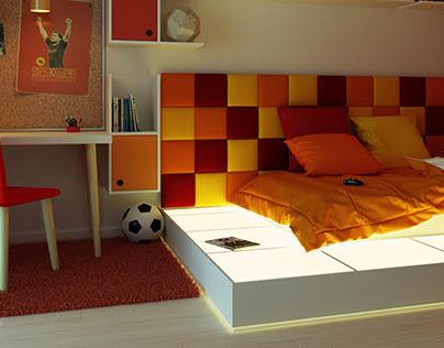 // M Bedroom - Assemini - ITALY // CGI