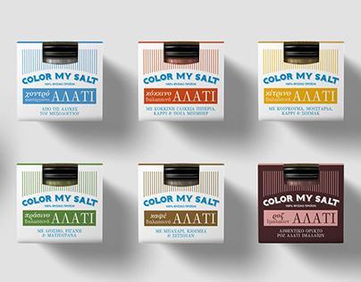 Color My Salt packaging