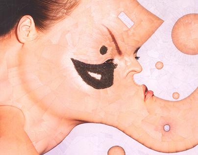 Flux Magazine collage with Kristiina Wilson