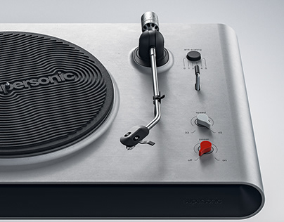 Supersonic Turntable (CGI)