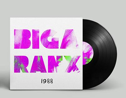 """Biga Ranx """"1988"""" - cover d'album"""