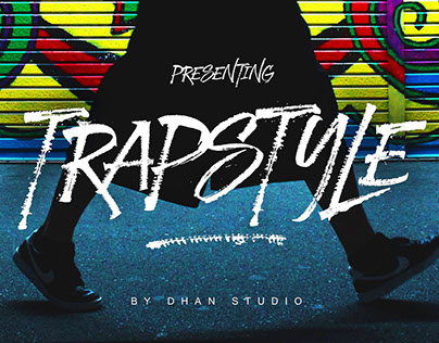 Trapstyle Font