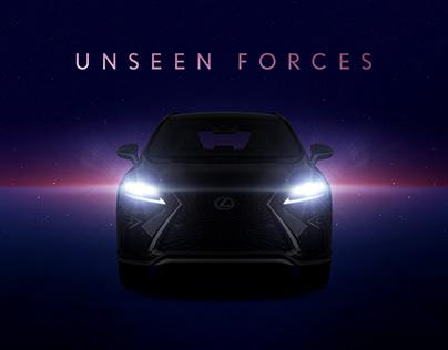 Lexus - Unseen Forces - WebGL Interactive Experience