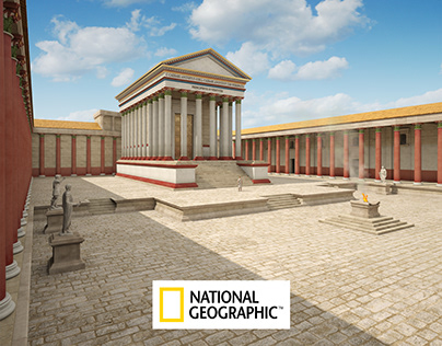 Nemausus 2nd century AD for National Geographic