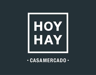 Brand identity_HOY HAY Casamercado