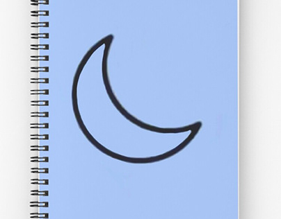 Spiral Notebook Designed and sold by Rstyle16