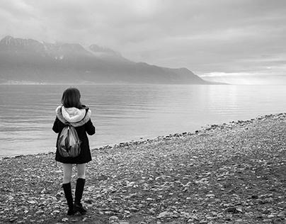 Geneva Lake Monochrome