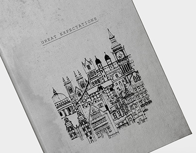 Hand Drawn Book and Coffee Covers