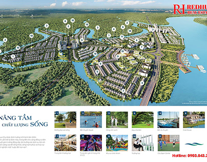 Phan khu Sun Harbor Aqua City