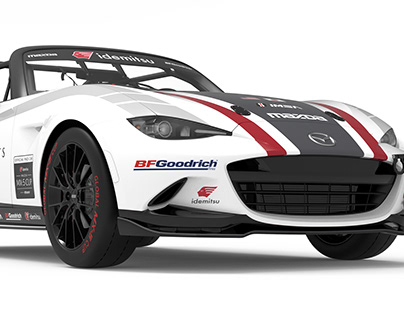 MX-5 Cup Series Logo & Pace Car Livery