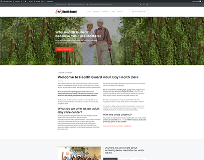 Health Guard Website