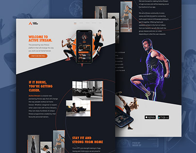Web Design - Active Stream