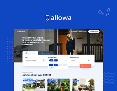 Allowa — Real Estate Plateform