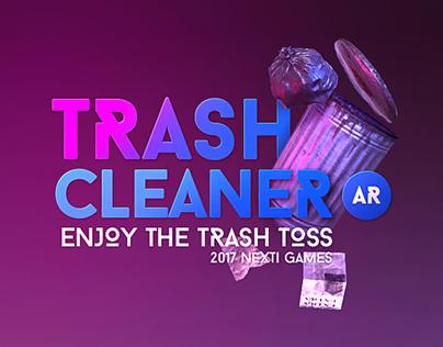Trash Cleaner AR ( GAME )