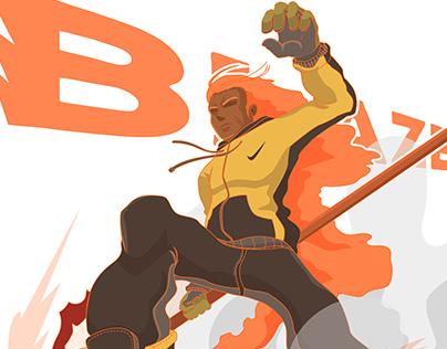 Blaze Concept Character