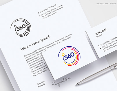 360 Degrees Company Logo
