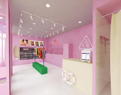 STYLENANDA Retail Design