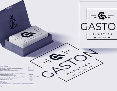 Gaston Plastics Brand Identity